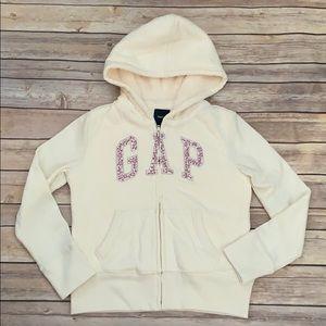 Gap Full Zip Lined Sweatshirt